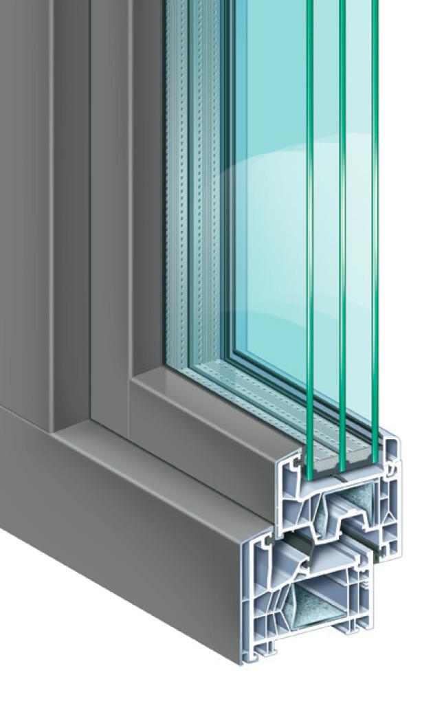 Fenêtres Mixtes Pvcaluminium Luxus 76md Hamcz